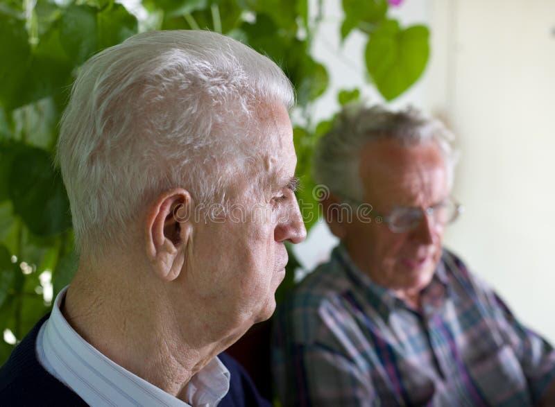Hommes aînés photographie stock