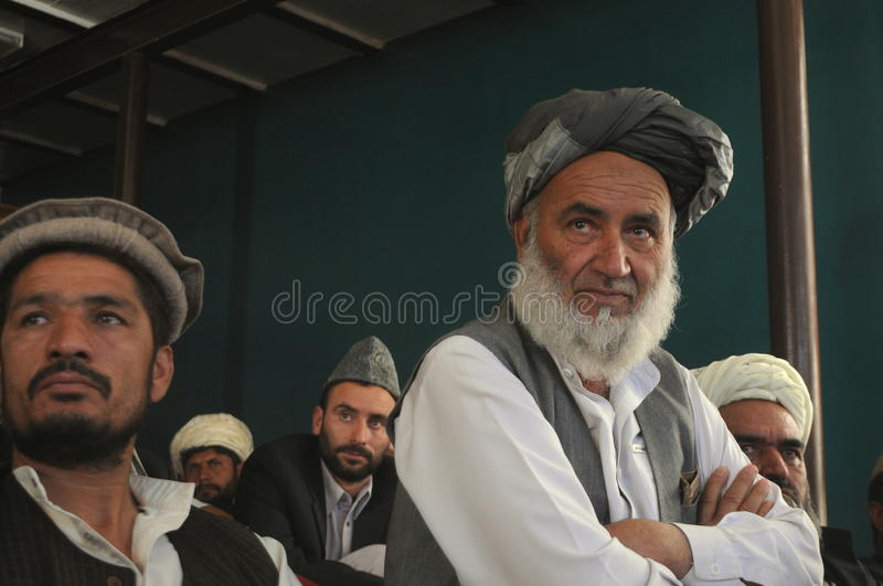Hommes afghans photo stock