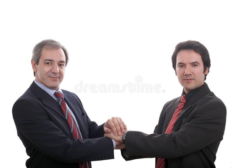 Hommes d'affaires photo libre de droits