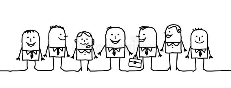 Hommes d'affaires illustration de vecteur