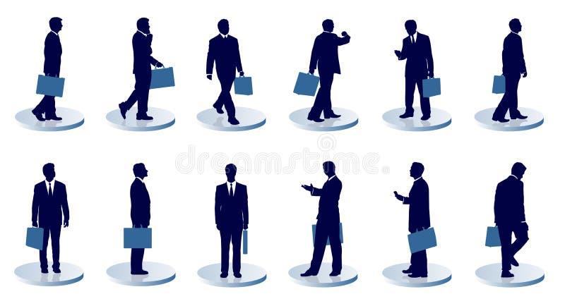 Hommes d'affaires illustration stock