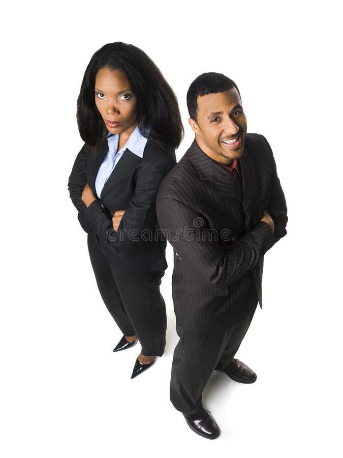Hommes d'affaires - plafond en verre image libre de droits