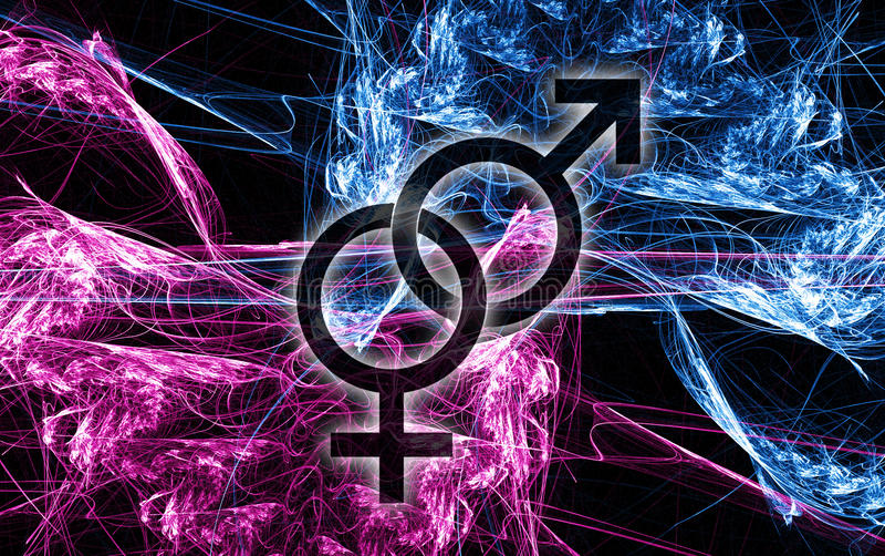 Hommes et femmes 2 illustration libre de droits