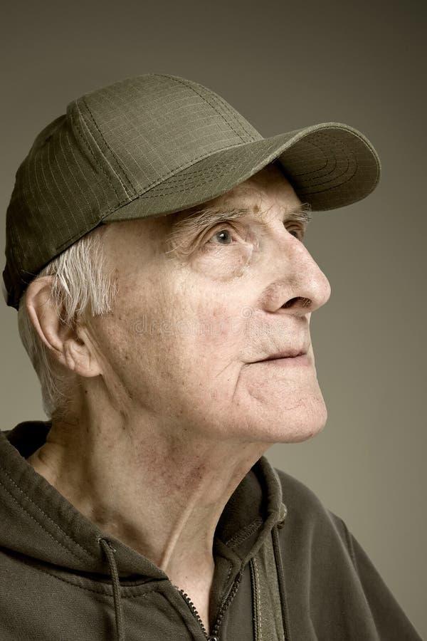 Hommes nobles de personnes âgées de beauté photographie stock libre de droits