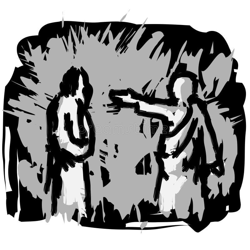 Homo de Ecce ilustração stock