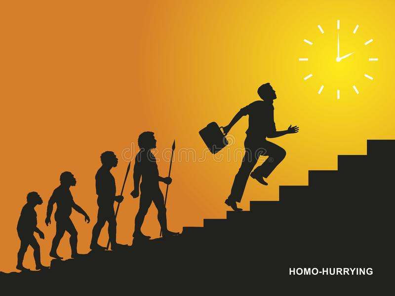 Homo-hurrying. The result of a long evolution