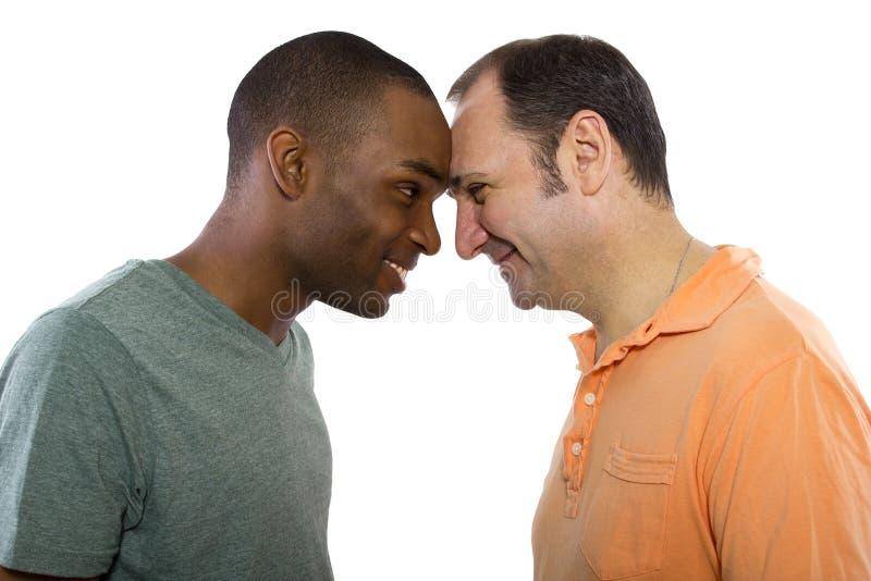 Homoseksualni kochankowie obrazy stock