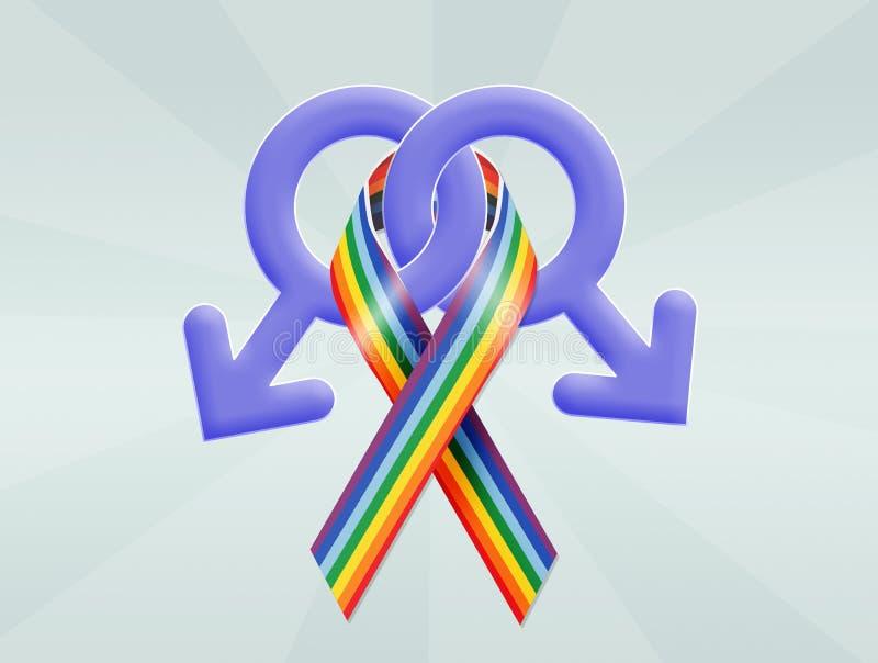 homoseksualni symbole ilustracji