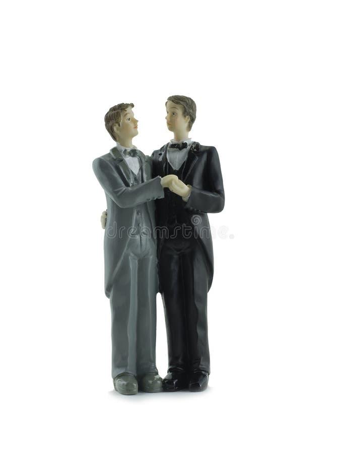 homoseksualny ślub obraz stock