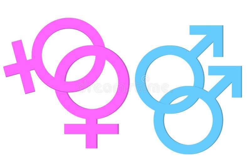 Homosex Symbol stock photos