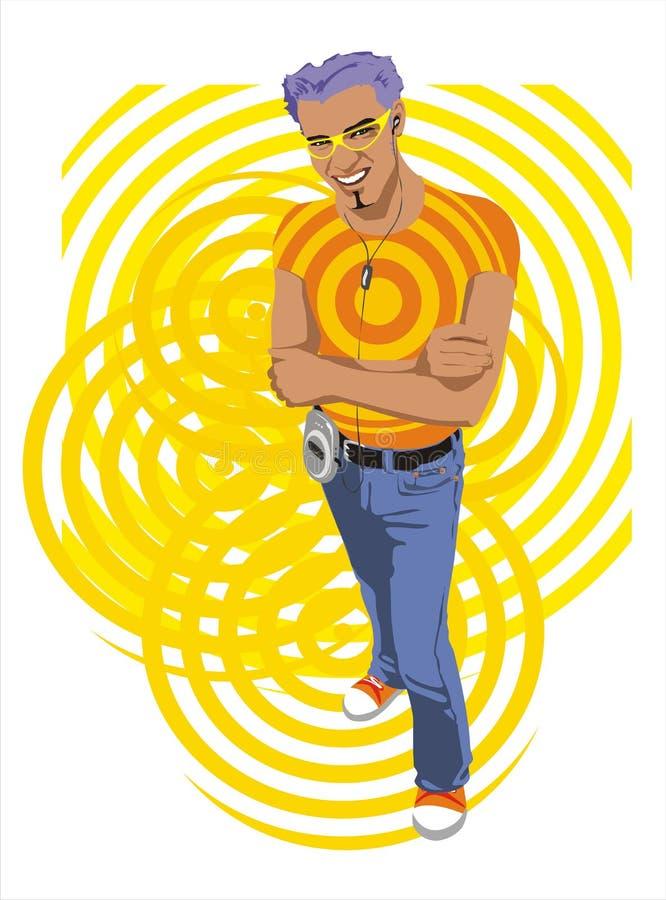 Homosexual del partido libre illustration