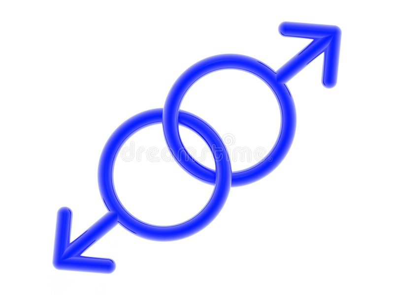 Homosexual Icon Stock Photography