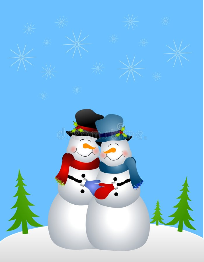Download Homosexual Snowman Couple Stock Photos - Image: 6712493