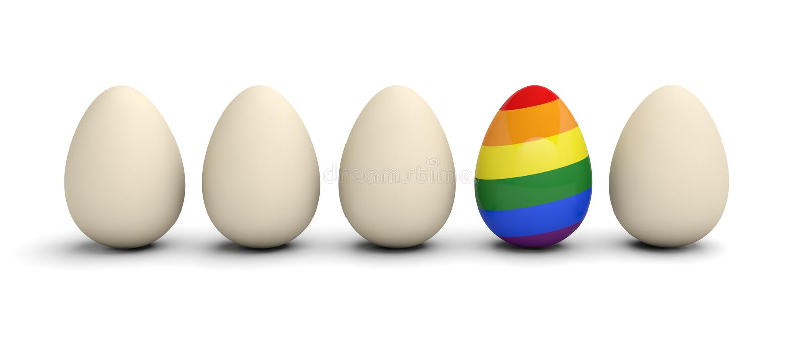 Homosexuality discrimination exclusion diversity lgbt background. 3D stock photos