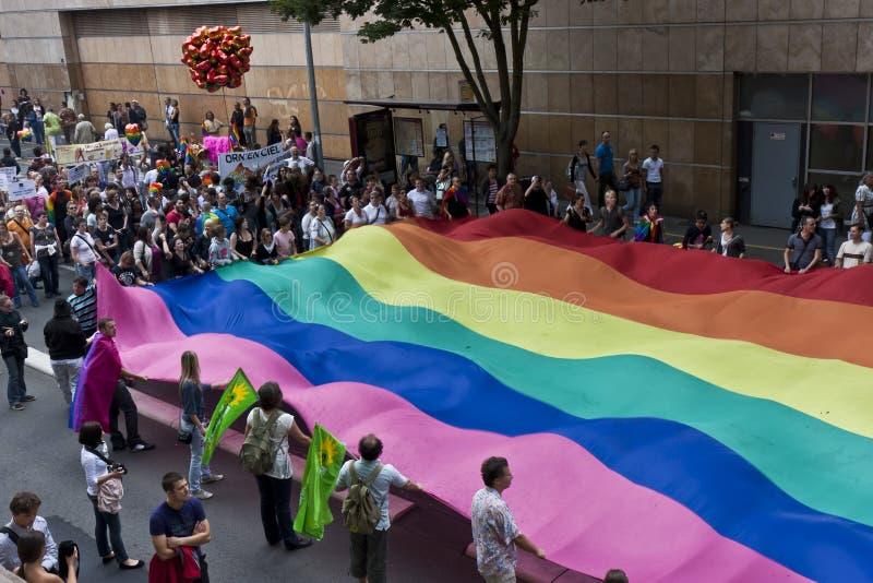 Homosexuelle Parade stockfoto