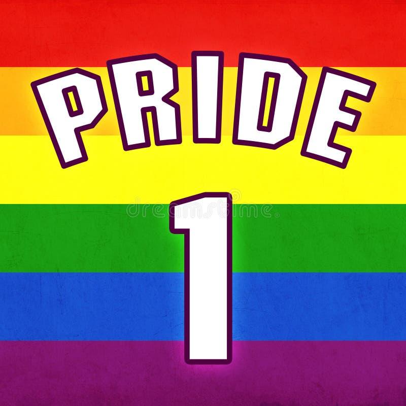 Homosexueller Stolz stock abbildung
