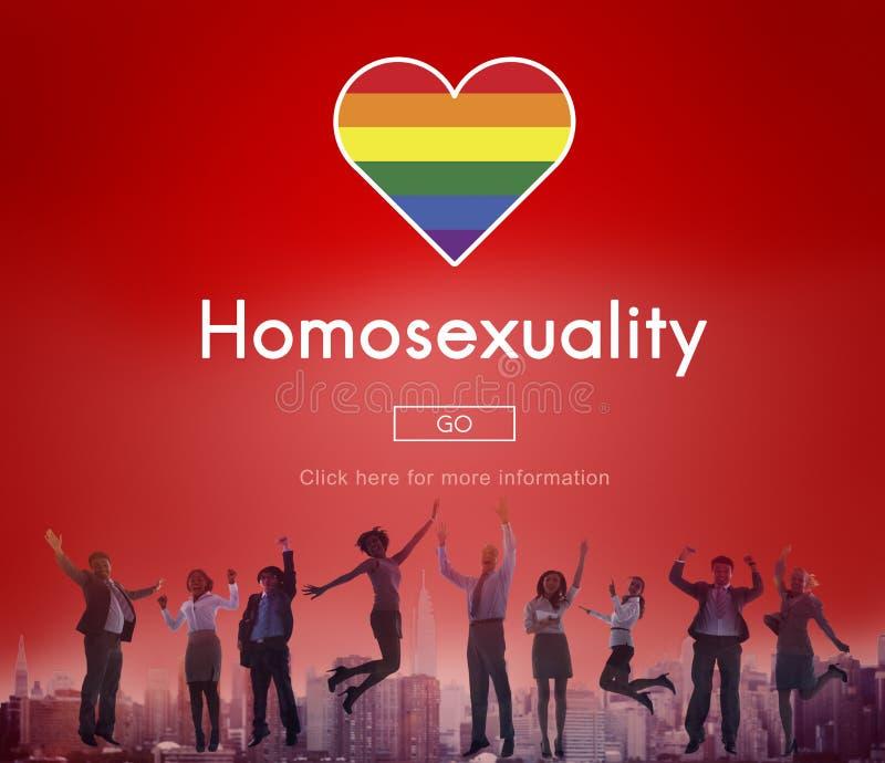 Homosexuelles LGBT-Gleichgestelltes berichtigt Homosexualitäts-Konzept lizenzfreie stockfotos