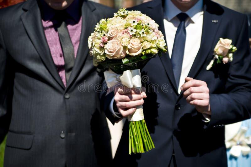 Homossexual do casamento fotografia de stock