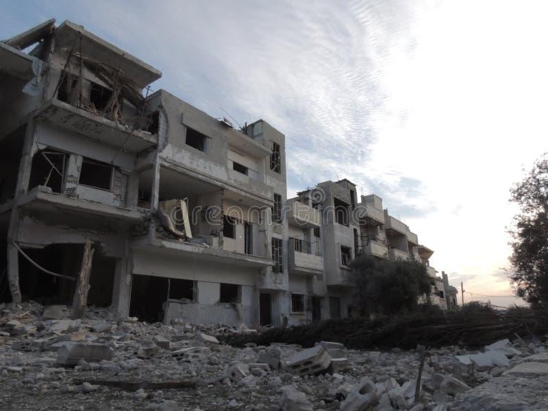 Homs stad i Syrien arkivbild