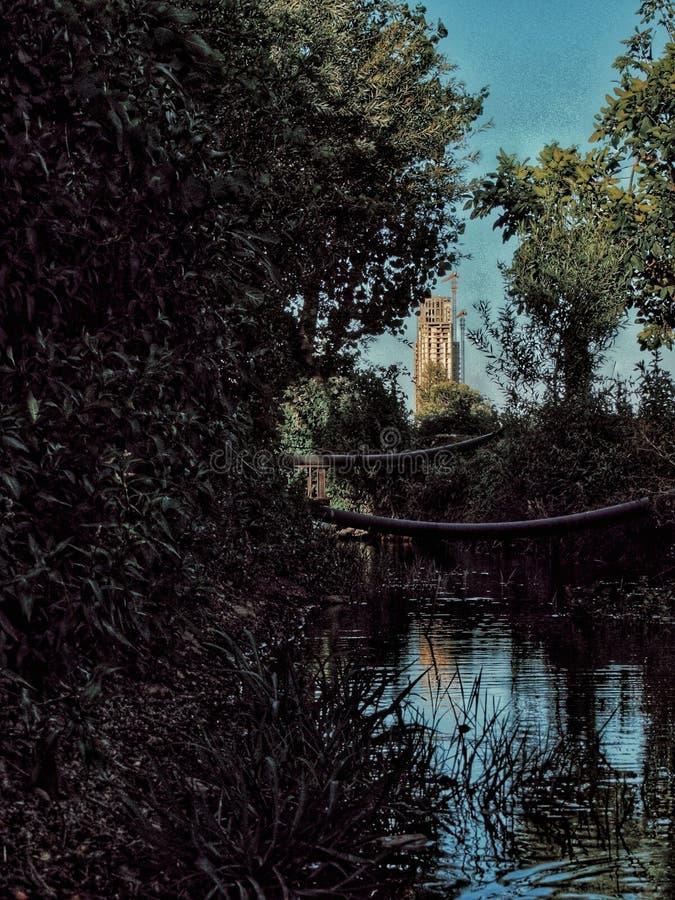 Homs stad i Syrien arkivfoto