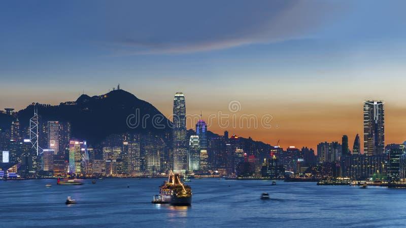 Hon Kong lizenzfreies stockbild