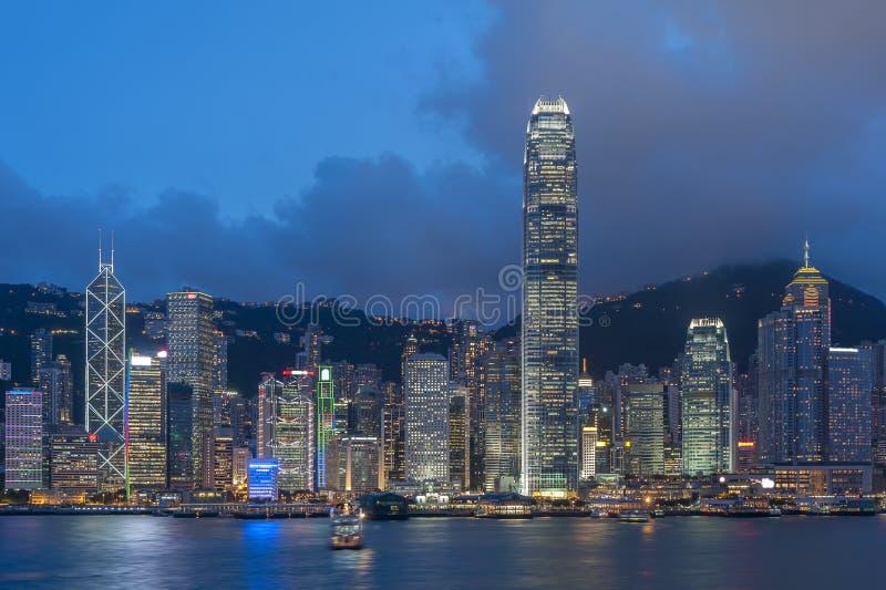 Hon Kong fotografie stock