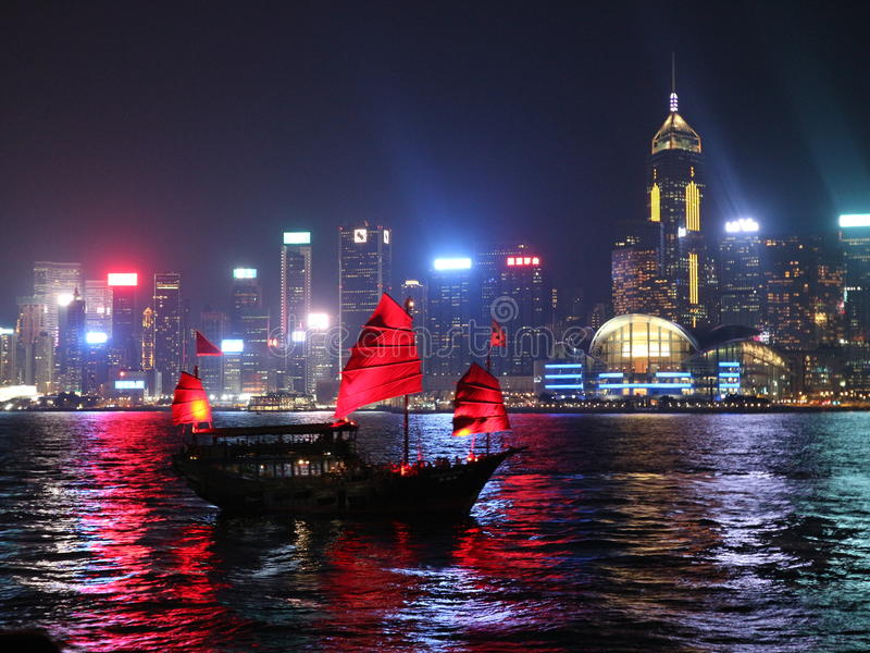 Hon Kong immagine stock libera da diritti