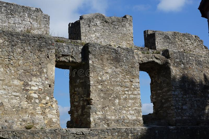 Honburg руин в tuttlingen стоковые фотографии rf