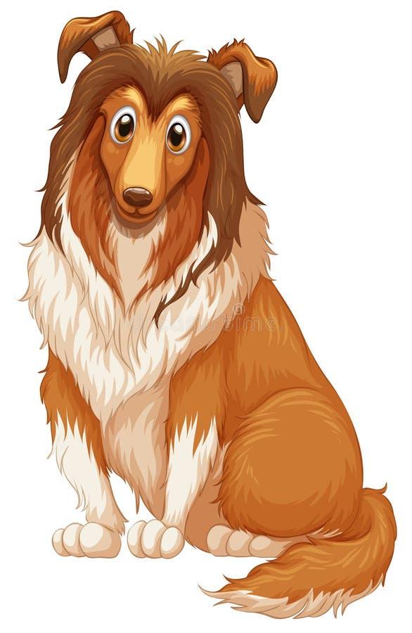 Hond stock illustratie