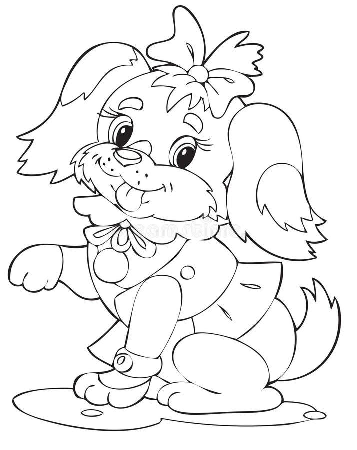 Hond royalty-vrije illustratie