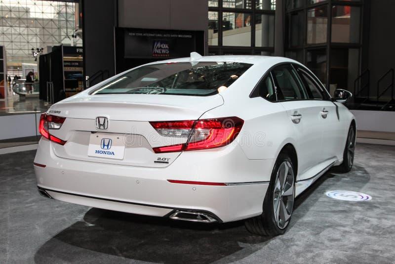 Honda Accord turnera royaltyfri bild