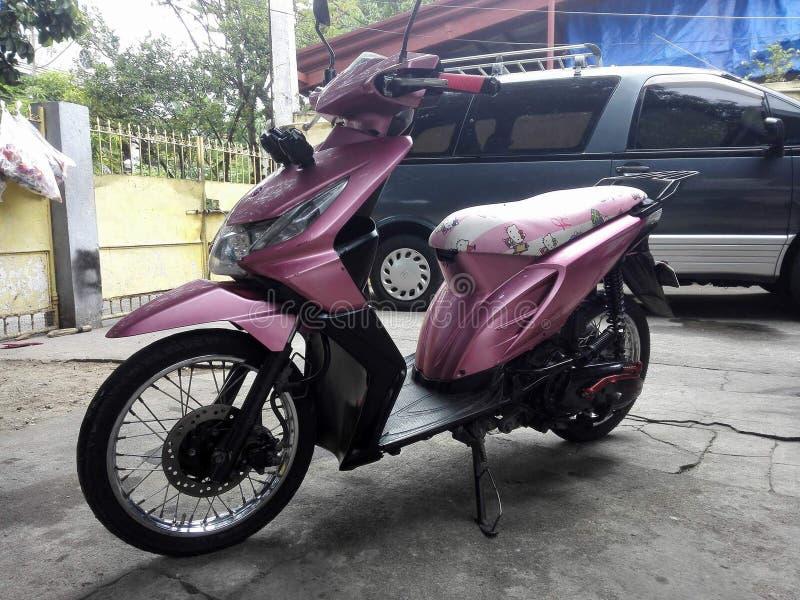 Honda Beat sparkcykel royaltyfri bild