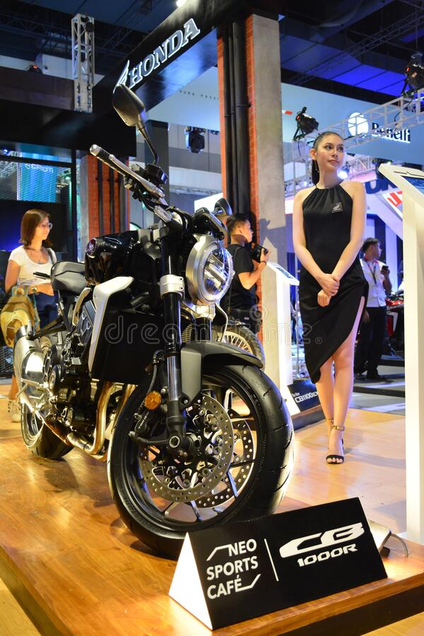 Honda CB 1000R Motorrad bei Makina Moto in Pasay, Philippinen lizenzfreie stockfotografie