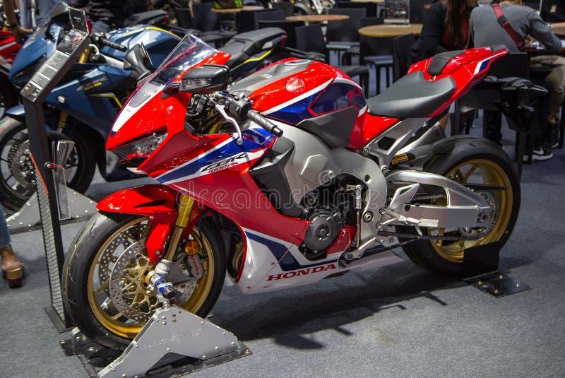 Honda CBR 1000 RR fotografering för bildbyråer