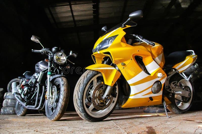 Honda CBR600RR fotografia stock