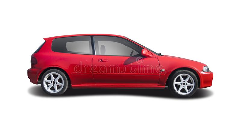 Honda Civic imagem de stock royalty free