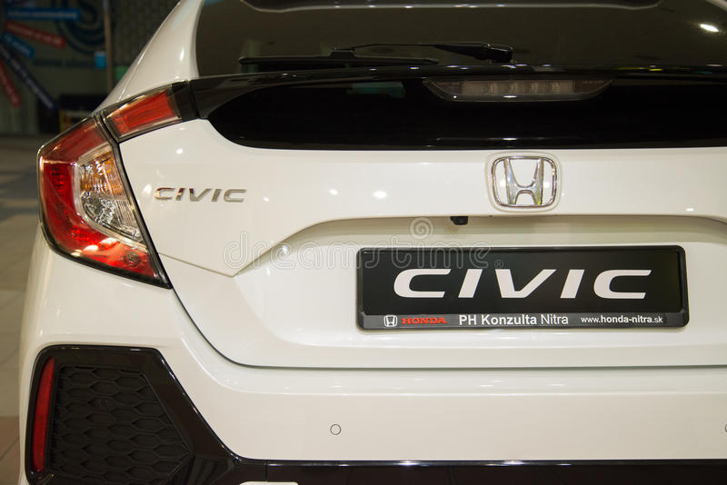 Honda Civic 2017 foto de archivo