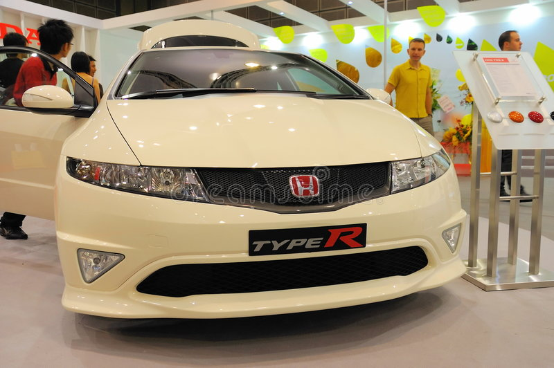 Download Honda Civic Type R editorial photography. Image of exhibit - 7259882