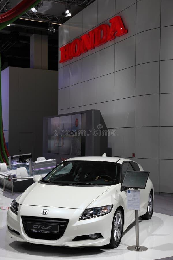 Honda CR-Z no IAA, Francoforte imagens de stock