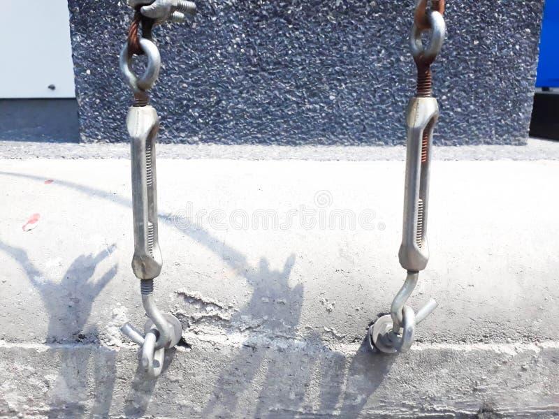 Honda de la cuerda de alambre fotografía de archivo libre de regalías