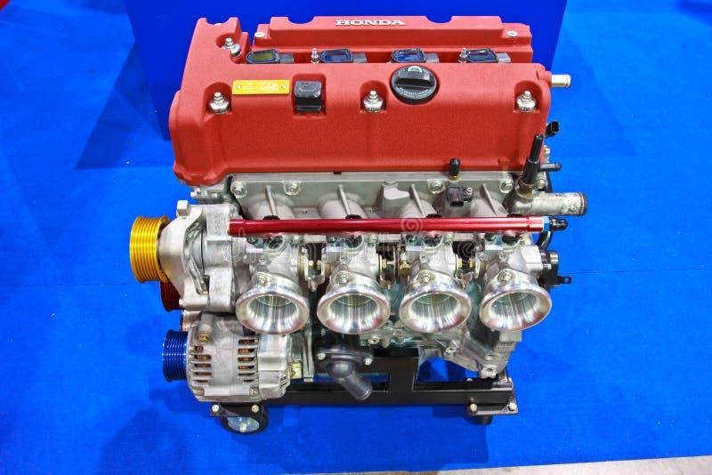 HONDA-de motor toont bij de internationale autosalon van tweede Bangkok stock afbeeldingen