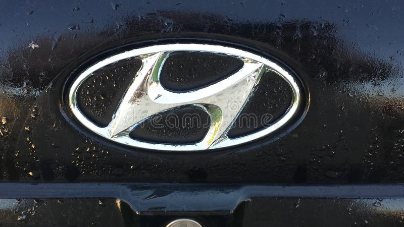 Honda emblem royalty free stock images