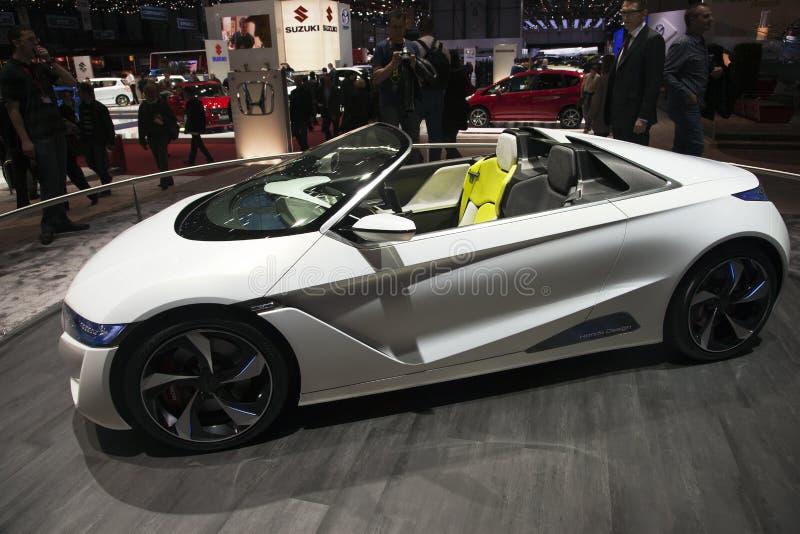 Honda EV-Ster Concept stock photography