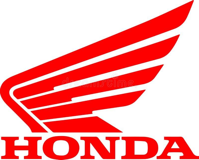 Honda firmy logo ikona ilustracji