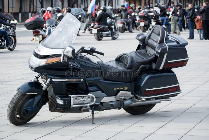 Honda Gold Wing GL1500 fotografie stock