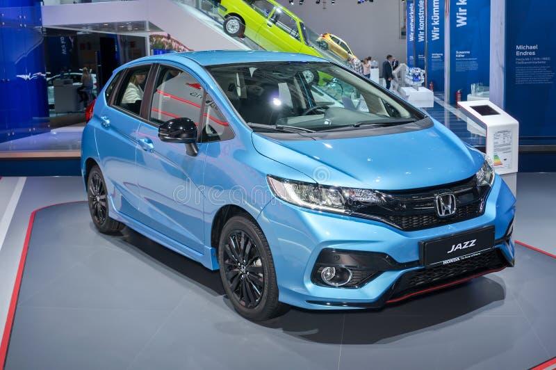 Honda Jazz royalty-vrije stock foto's