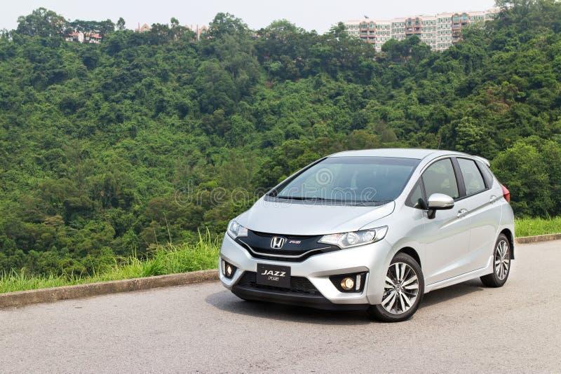 Honda Jazz Fit 2014 royalty-vrije stock fotografie