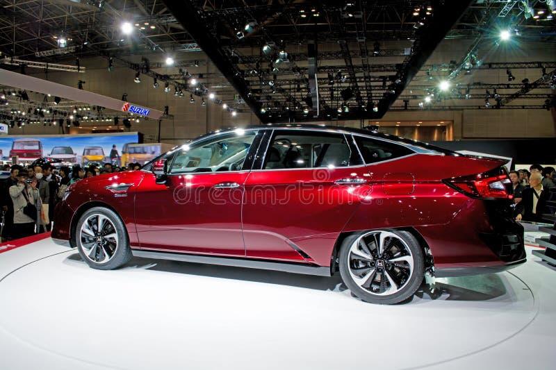 Honda klarhet FCV fotografering för bildbyråer
