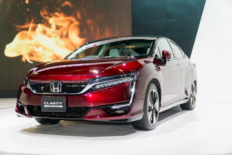 Honda klarowność Fuel Cell przy Kuala Lumpur Motorowym przedstawieniem zdjęcia stock