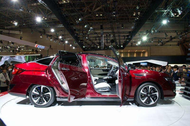 Honda klarowności ogniwo paliwowe, Tokio 2015 zdjęcia stock